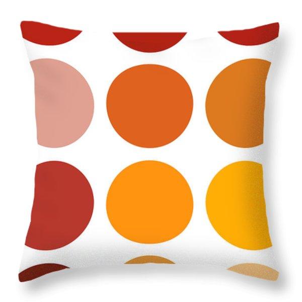 Saffron Colors Throw Pillow by Frank Tschakert