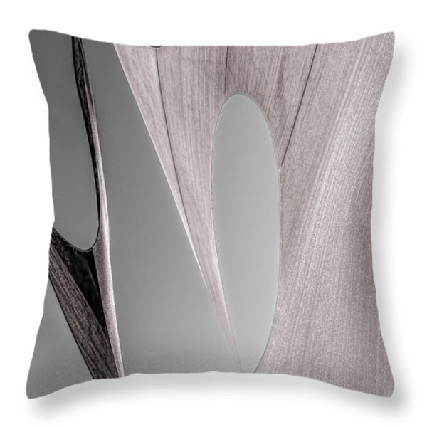 Sailcloth Abstract Number 2 Throw Pillow by Bob Orsillo