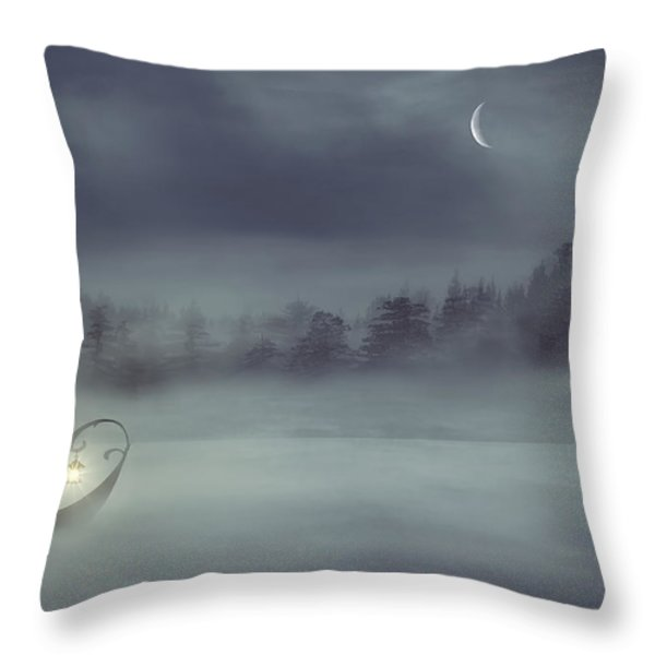 Sailing Odyssey Throw Pillow by Lourry Legarde
