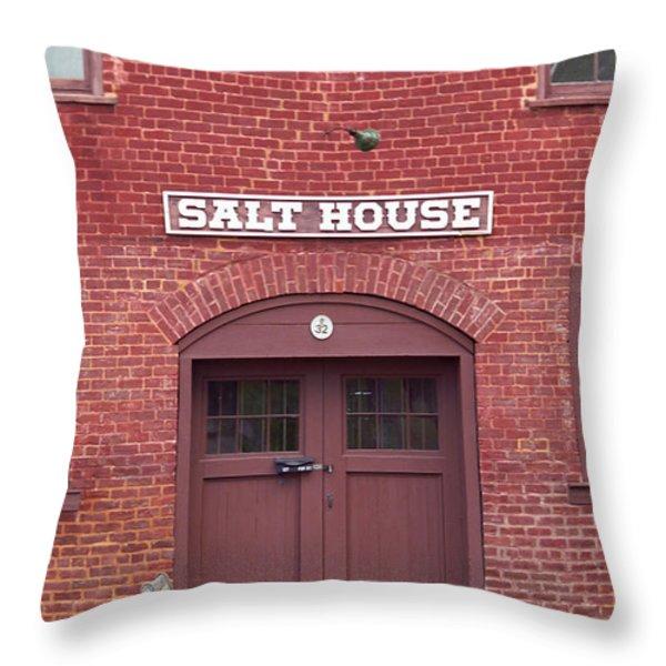 Salt House Jonesborough Tennessee Throw Pillow by Frank Romeo