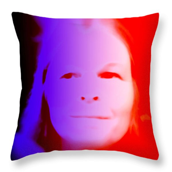 Same same but different Throw Pillow by Hilde Widerberg