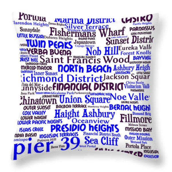 San Francisco 20130710whi Throw Pillow by Wingsdomain Art and Photography