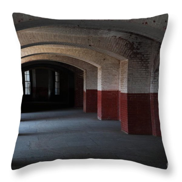 San Francisco Fort Point 5d21543 Throw Pillow by Wingsdomain Art and Photography