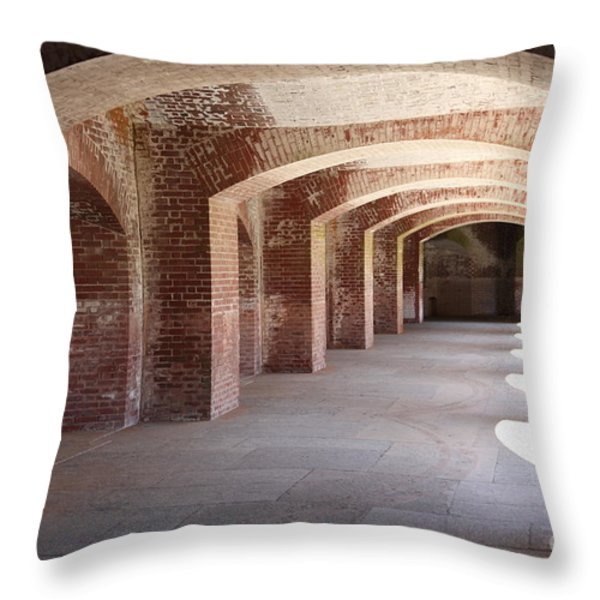 San Francisco Fort Point 5D21545 Throw Pillow by Wingsdomain Art and Photography