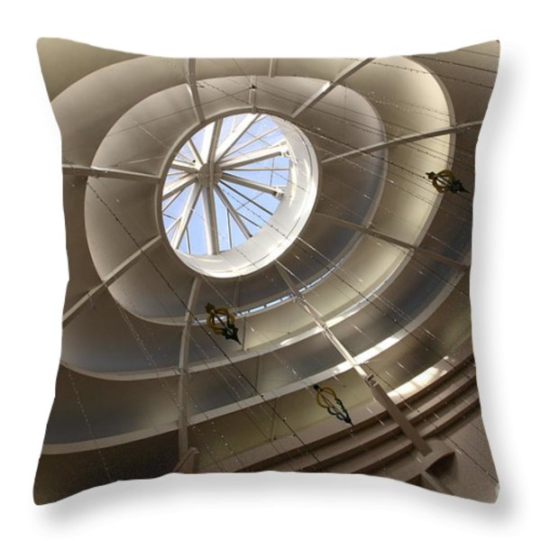 San Francisco Nordstrom Department Store - 5d20643 Throw Pillow by Wingsdomain Art and Photography