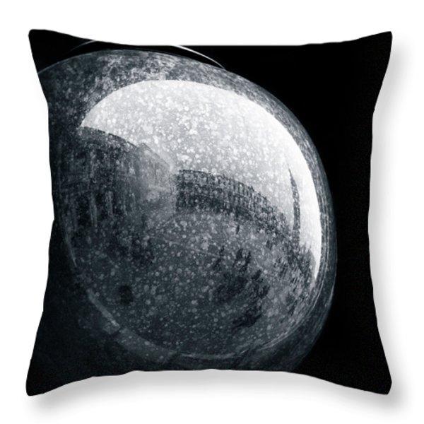 San Marco Orb Throw Pillow by Dave Bowman