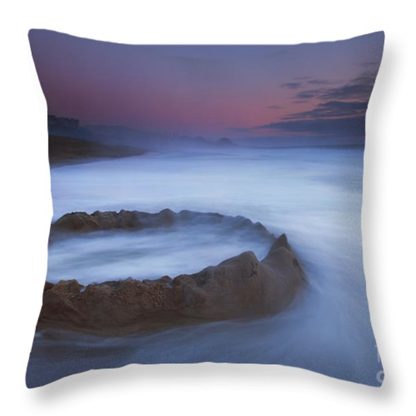 Sand Castle Dream Throw Pillow by Mike  Dawson
