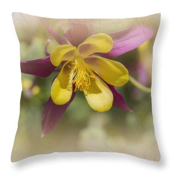 Sarah Throw Pillow by Elaine Teague