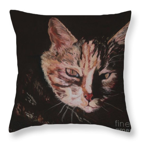 Sasha Throw Pillow by Pat Saunders-White