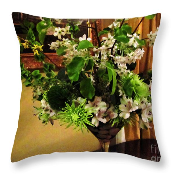 Savannah Still Life Throw Pillow by Joan  Minchak
