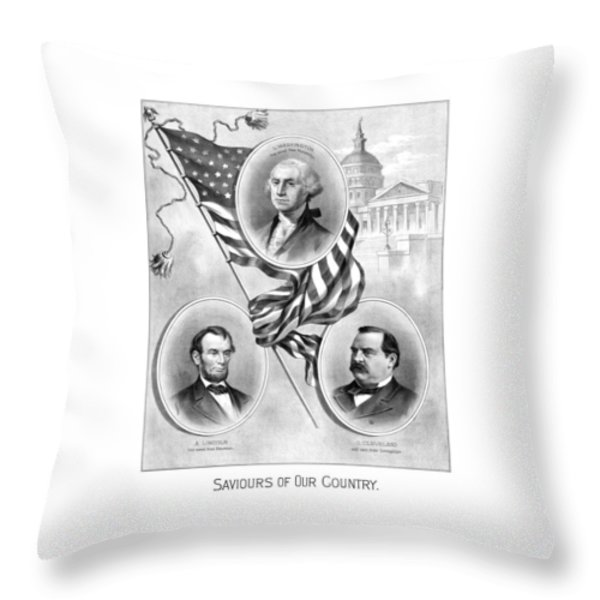 Saviours Of Our Country  Throw Pillow by War Is Hell Store