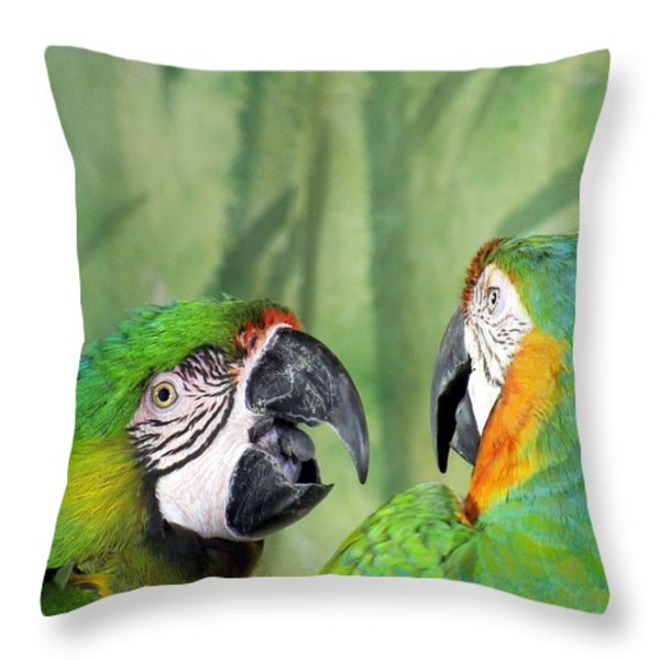 Say What? You Grounded Me For Flirting With Chick Named Daisy? Throw Pillow by Lingfai Leung