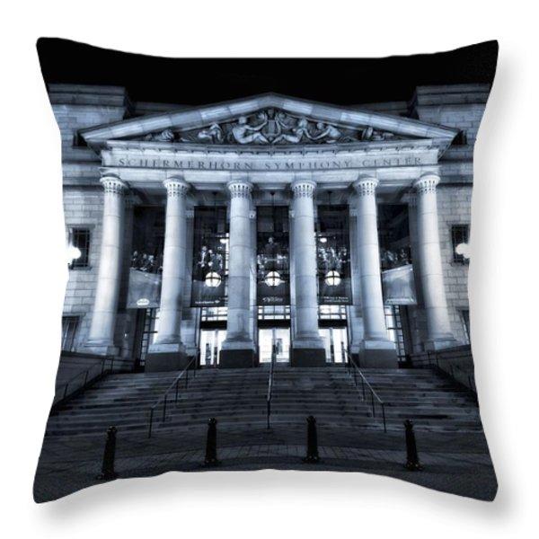 Schermerhorn Symphony Center Throw Pillow by Dan Sproul