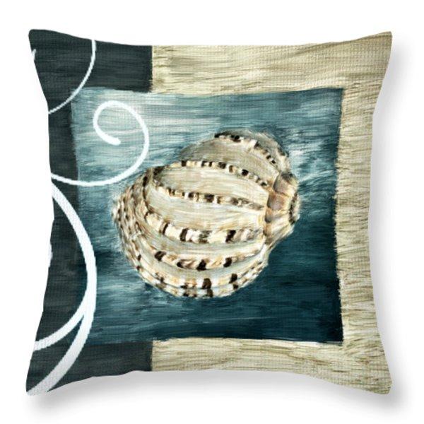Sea Treasure Throw Pillow by Lourry Legarde
