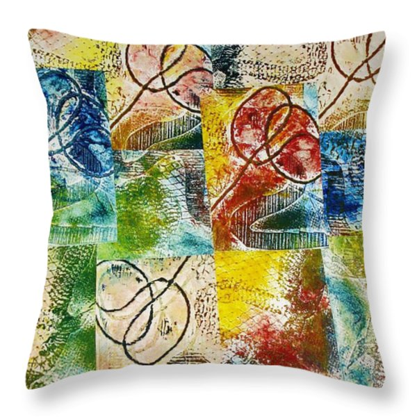 Seal The Deal Throw Pillow by Yael VanGruber