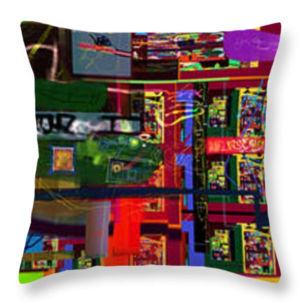 search for the straying son 14d Throw Pillow by David Baruch Wolk