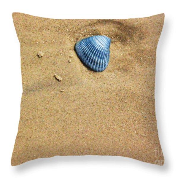 Seashell Throw Pillow by Venus