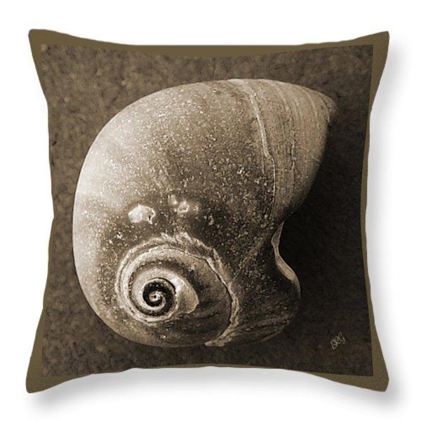 Seashells Spectacular No 31 Throw Pillow by Ben and Raisa Gertsberg