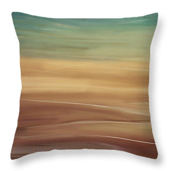 Seaside Throw Pillow by Lourry Legarde