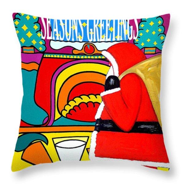 Seasons Greetings 16 Throw Pillow by Patrick J Murphy