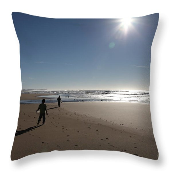 Seasons In The Sun  5D21323 Throw Pillow by Wingsdomain Art and Photography