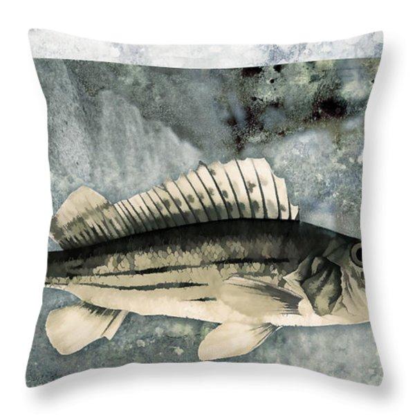 Seaworthy Throw Pillow by Carol Leigh