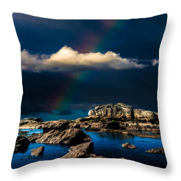 Secret Place II Throw Pillow by Bob Orsillo