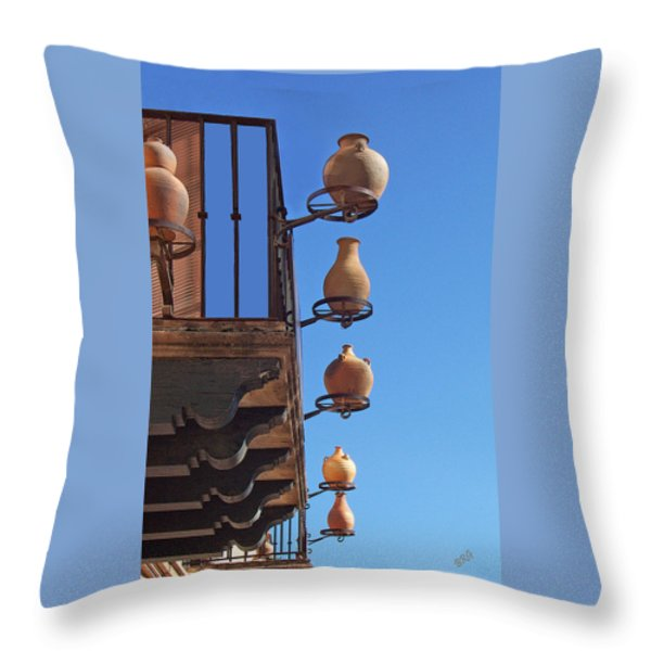 Sedona Jugs Throw Pillow by Ben and Raisa Gertsberg