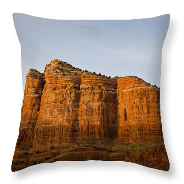 Sedona Landscape VIII Throw Pillow by Dave Gordon