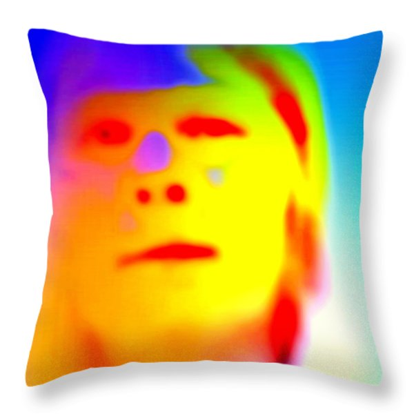 see myself  Throw Pillow by Hilde Widerberg