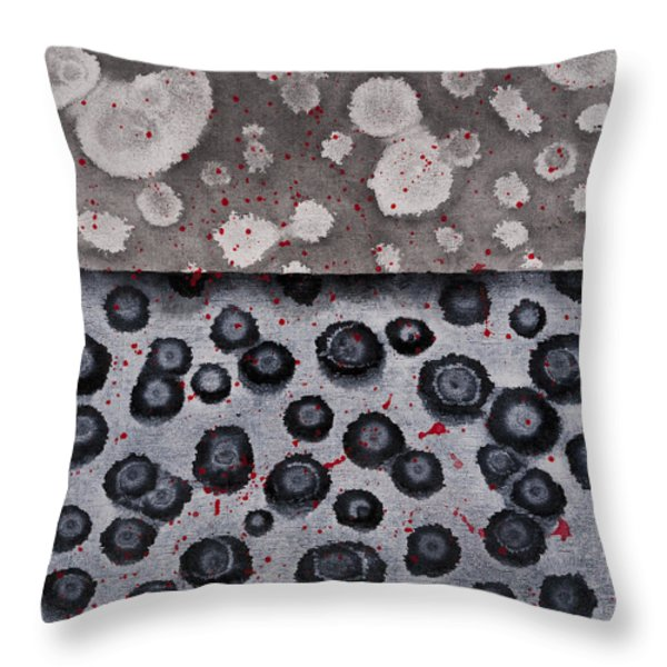 Seeds Of Life Throw Pillow by Darice Machel McGuire