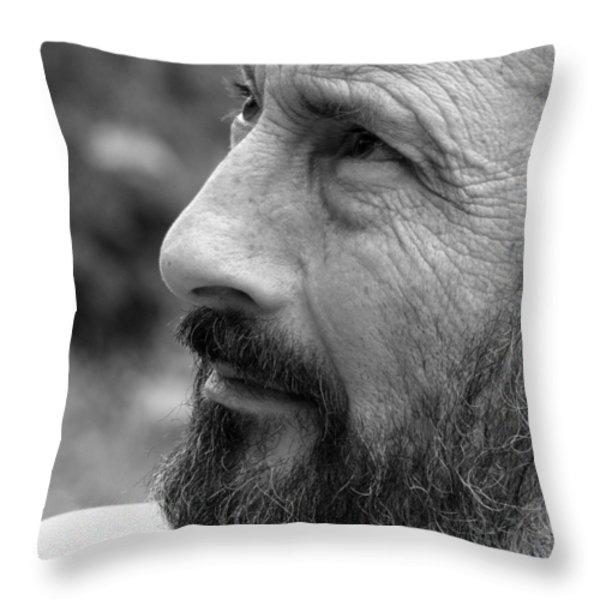 Seeing Into The Future Throw Pillow by Rory Sagner