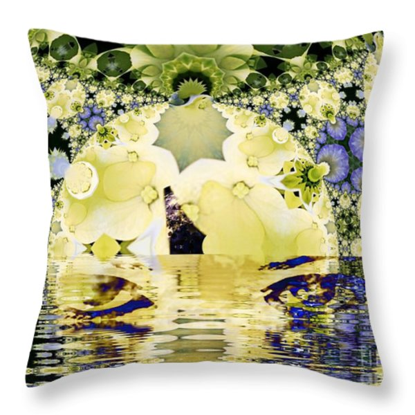 Seeing It Through Throw Pillow by Elizabeth McTaggart