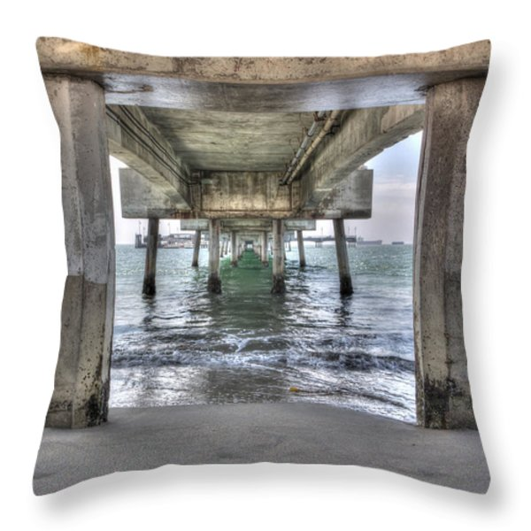 Seeking Shelter From The Sun Throw Pillow by Heidi Smith
