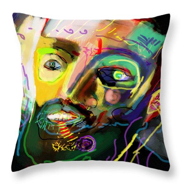 self development 11 Throw Pillow by David Baruch Wolk