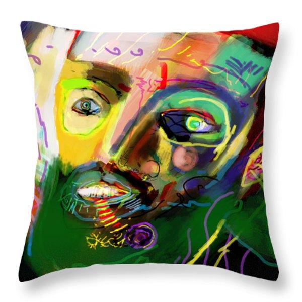 self development 13 Throw Pillow by David Baruch Wolk
