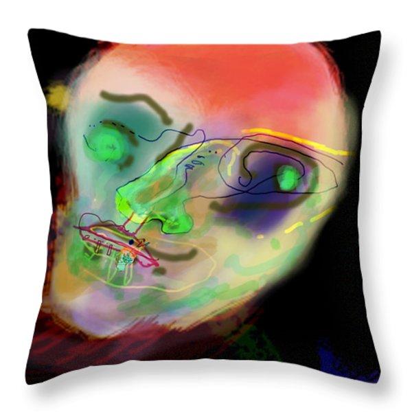 self development 2 Throw Pillow by David Baruch Wolk