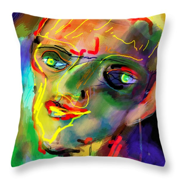 self development 5 Throw Pillow by David Baruch Wolk