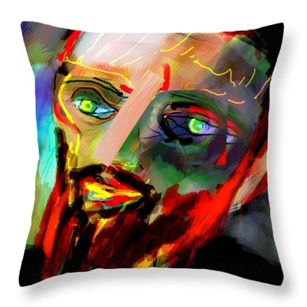 self development 8 Throw Pillow by David Baruch Wolk