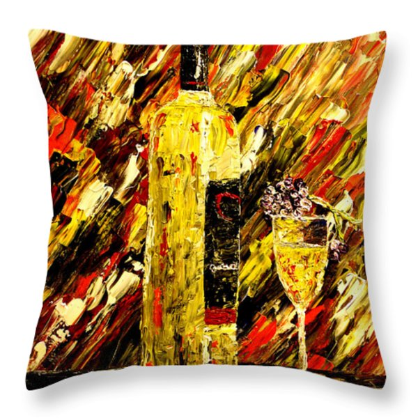 Sensual Nights Throw Pillow by Mark Moore