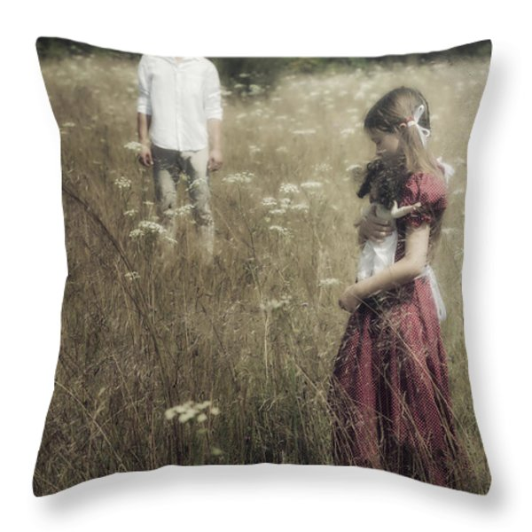 seperation Throw Pillow by Joana Kruse