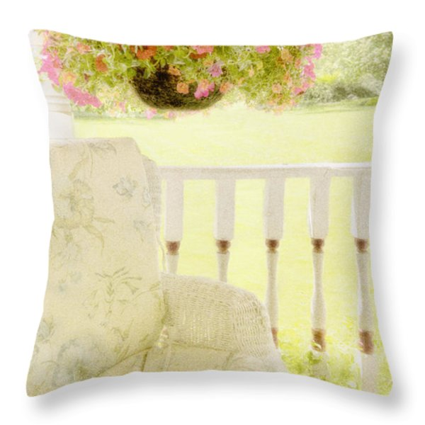Serenity Throw Pillow by Margie Hurwich