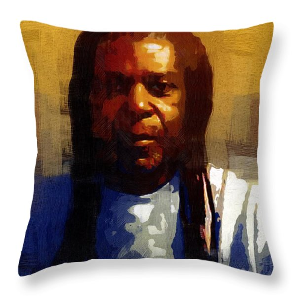 Seriously Now... Throw Pillow by RC DeWinter
