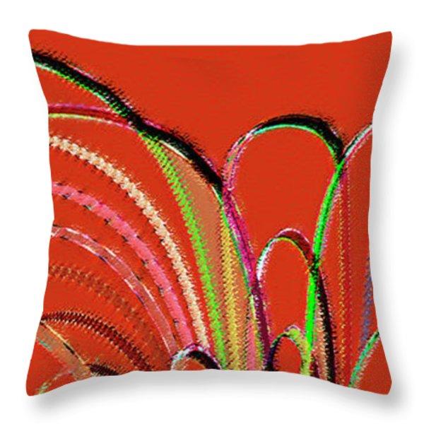Serpentine Throw Pillow by Ben and Raisa Gertsberg