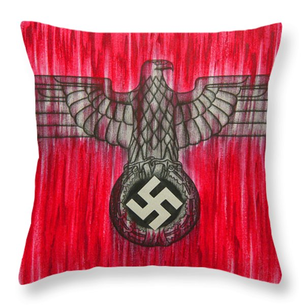 Seven Deadly Sins - Pride Throw Pillow by Lynet McDonald