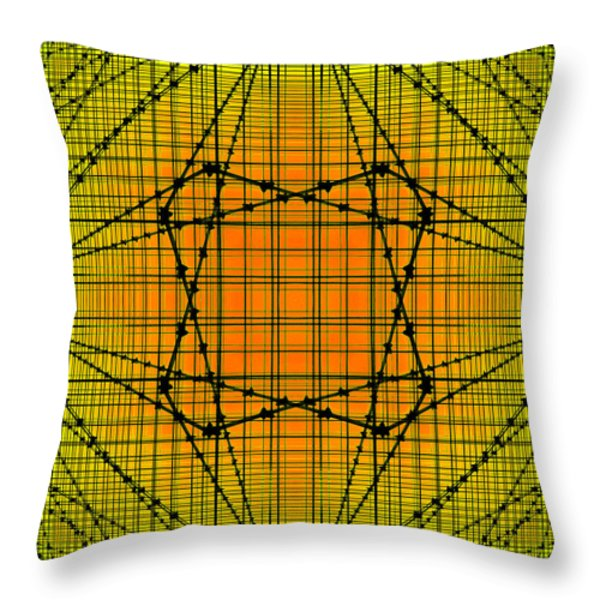 SHADES 18 Throw Pillow by Mike McGlothlen