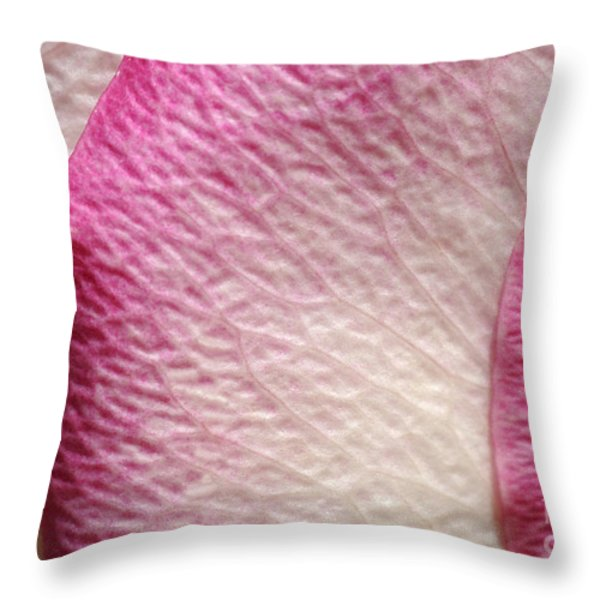 Shades of Pink Throw Pillow by Luke Moore
