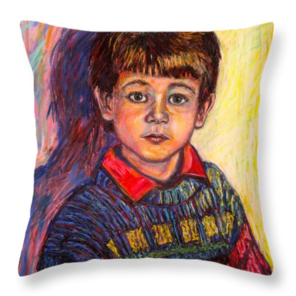Shadow Of Things To Come Throw Pillow by Kendall Kessler