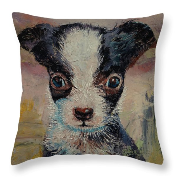 Shakespeare Throw Pillow by Michael Creese