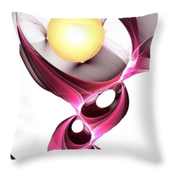 Shape-shifter Throw Pillow by Anastasiya Malakhova